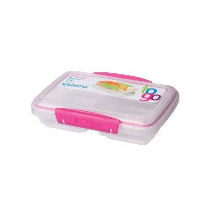 Sistema Split To Go Storage Container Assorted Colors