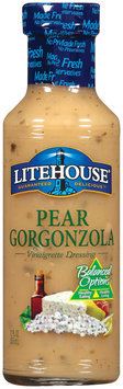 Litehouse Pear Gorgonzola Vinaigrette  Dressing 12 Oz Bottle