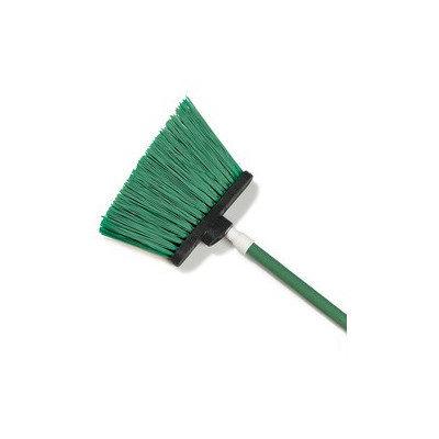 Carlisle 4108309 - 48-in Angle Broom w/ Unflagged Green Bristles & Fib