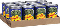 Double Luck® Short Cut and Cut Blue Lake Green Beans 14.5 oz. Can