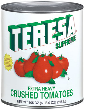 Teresa Crushed Extra Heavy Tomatoes 105 Oz Can