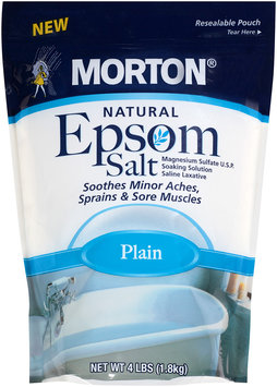 Morton® Natural Epsom Salt Plain 4 lb. Bag