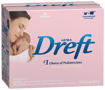 Dreft® Ultra Baby Powder Laundry Detergent 91 oz. Box
