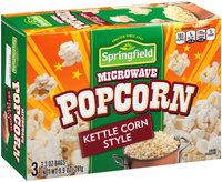 Springfield® Kettle Corn Style Microwave Popcorn 9.9 oz. Bags