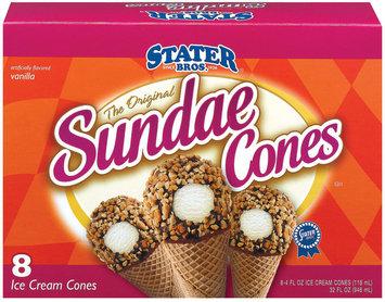 Stater Bros. Original 8 Ct Sundae Cones 32 Oz Box