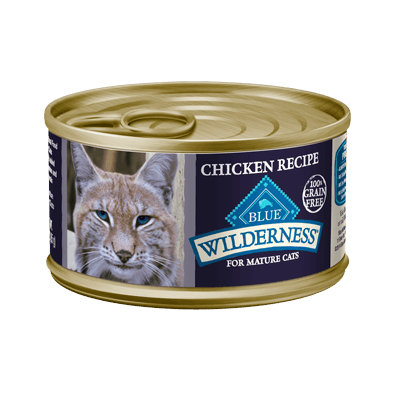 THE BLUE BUFFALO CO. BLUE™ Wilderness® Chicken Recipe For Mature Cats