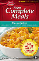 Betty Crocker® Helper Complete Meals® Cheesy Chicken 23.6 oz. Box