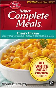 Betty Crocker® Helper Complete Meals® Cheesy Chicken 23.6 oz. Box