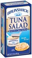 Brunswick® Ready to Eat Tuna Salad with Crackers 3 oz. Box