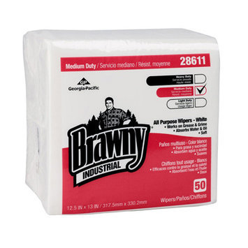 Brawny Airlaid Medium-Duty Folded Wipers