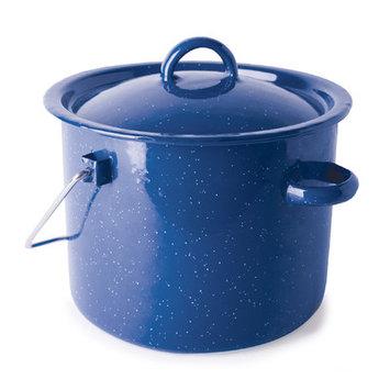 Stansport Cast Steel 3.2-qt. Straight Pot with Lid