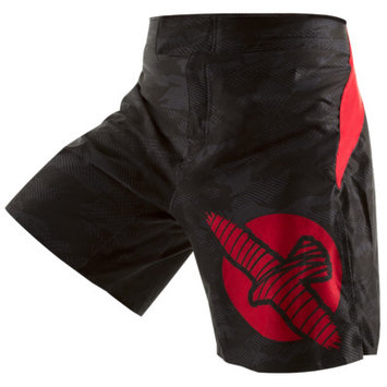 Hayabusa Weld3 Fight Shorts Color: Black, Size: 32