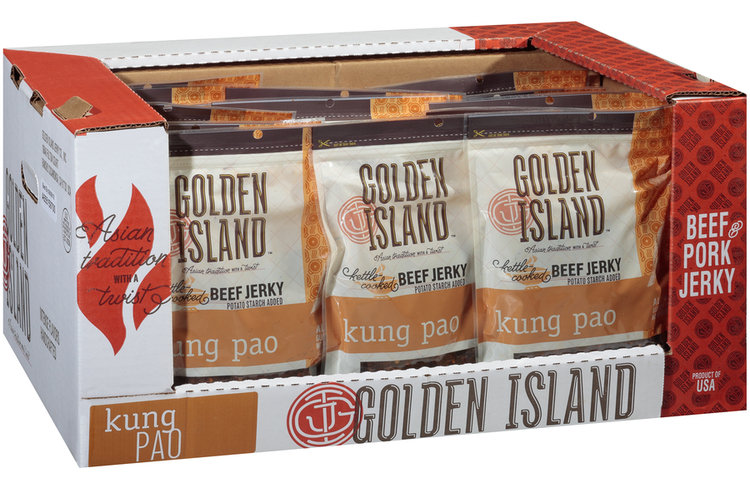 Golden Island™ Kung Pao Beef Jerky Pack