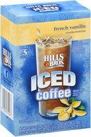 Hills Bros. ® Iced Coffee French Vanilla 0.57 oz 5 ct Box