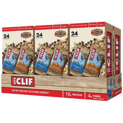 Clif Bar Chocolate Chip & Crunchy Peanut Butter Energy Bar Variety Pack