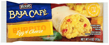Baja Cafe® Egg & Cheese Burrito 4 oz. Wrapper