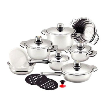 Dr. Cook 7-layer Stainless Steel 16-piece Cookware Set