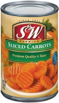 S&W® Sliced Carrots