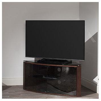 Techlink B6LO Bench Light Oak Corner TV Stand - Screens up to 55