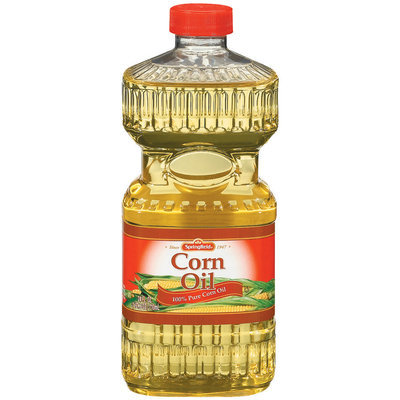 Springfield 100% Pure Corn Oil 24 Fl Oz Plastic Bottle