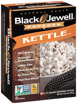 Black Jewell® Kettle Microwave Popcorn 3-3.5 oz. Bags