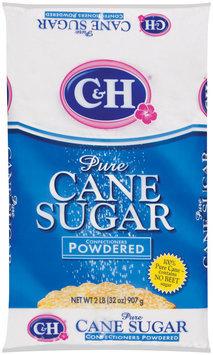 C&H Pure Cane Sugar Confectioners Powedered 2 lb Bag