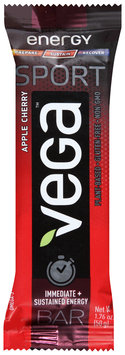 Vega™ Sport Apple Cherry Energy Bar 1.76 oz. Wrapper