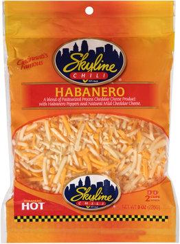 Skyline Chili® Habanero Shredded Cheese 8 oz. Bag