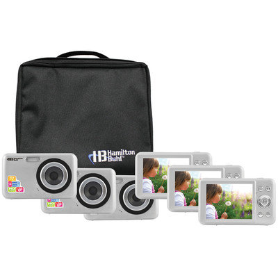 Hamilton Buhl CAMERA-DC2-6 Camera Explorer Kit, Includes Six 5MP Digital Cameras with Flash and 2.4