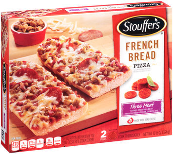 STOUFFER'S Three Meat French Bread Pizza 2 ct Box