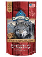 THE BLUE BUFFALO CO. BLUE™ Wilderness® Rocky Mountain Recipe™ Red Meat Recipe Grain-Free Natural Dog Biscuits