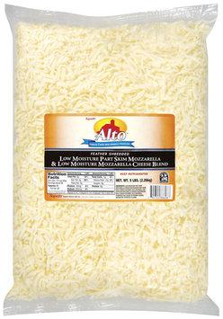 Alto® Feather Shredded Mozzarella Blend Cheese 5 Lb Bag