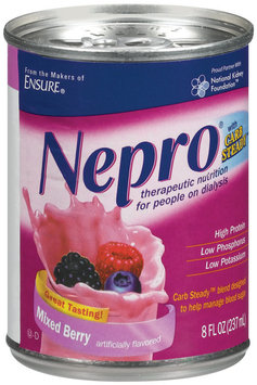 Nepro® Mixed Berry Therapeutic Nutritional Shake 8 fl. oz. Can