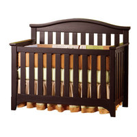 Child Craft Hawthorne 4-in-1 Convertible Crib