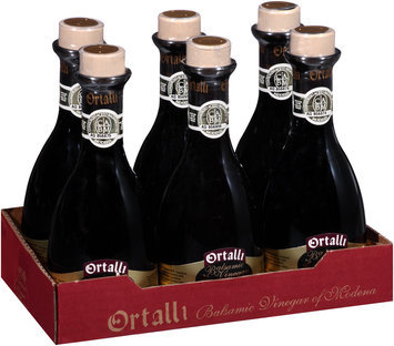 Ortalli Gold Label La Vedetta Balsamic Vinegar of Modena 8.45 fl. oz. Bottle