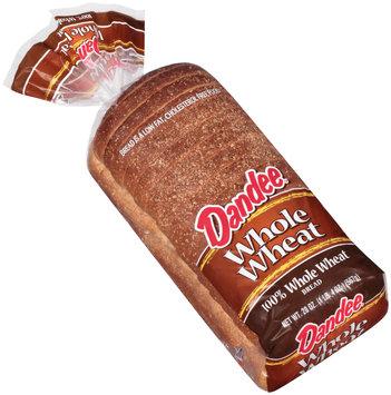 Dandee® 100% Whole Wheat Bread 20 oz. Bag