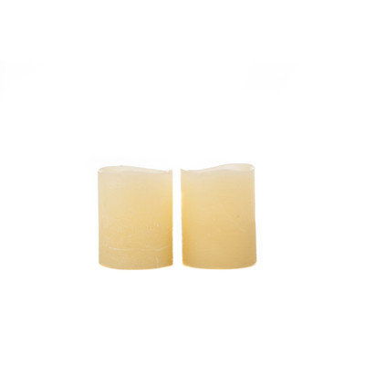 Theamazingflamelesscandle Flameless Votive Candles Color: Canary