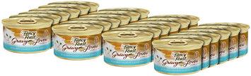 Purina Fancy Feast Gravy Lovers Salmon & Sole Feast in Seared Salmon Flavor Gravy Cat Food 3 oz. Can