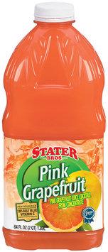 Stater Bros. Pink Grapefruit Juice Cocktail 64 Fl Oz Plastic Bottle