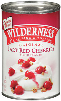 Wilderness® Original Tart Red Cherries Pie Filling & Topping 14.5 Oz Can