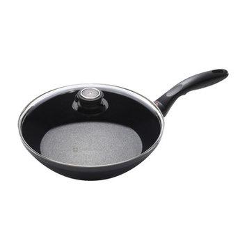 Swiss Diamond EDGE Stir Frying Pan with Lid, 2.25 H x 11 W x 11 D