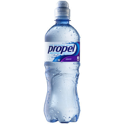 Propel® Grape Water Beverage with Vitamins 20 fl. oz. Bottle
