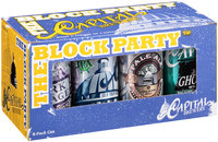 Capital Brewery® The Block Party Variety Pack™ 8-12 fl. oz. Cans
