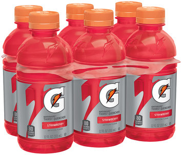 Gatorade® G® Series Perform Strawberry Sports Drink 6-12 fl. oz. Bottles