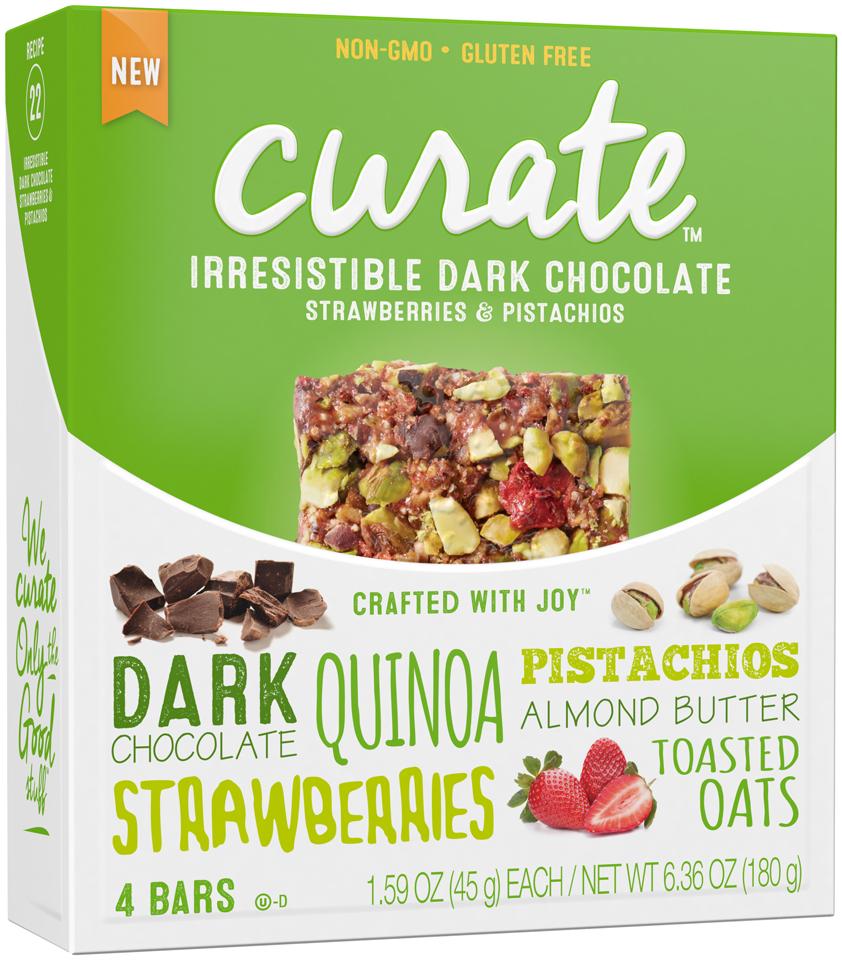 Curate™ Irresistible Dark Chocolate Snack Bars