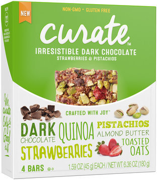 Curate™ Irresistible Dark Chocolate Snack Bars