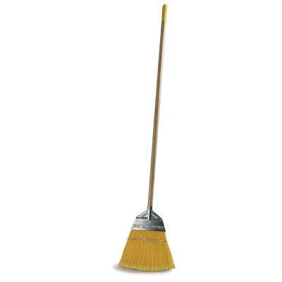 Carlisle 4564304 - 48-in Flagged Synthetic Corn Broom w/ Metal Top