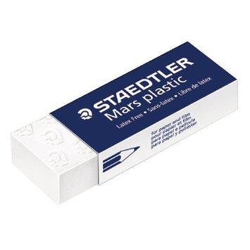 Staedtler 52650 White Plastic Eraser - 20 Per Box
