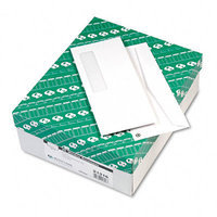 Quality Park Window Envelope, White, Recycled