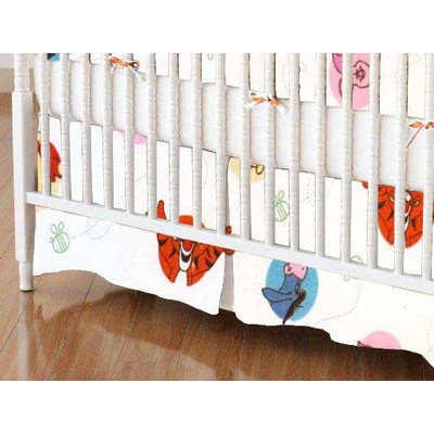 Stwd Winnie The Pooh and Friends Crib Skirt